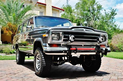 1989 Jeep Grand Wagoneer for sale in Lakeland, FL