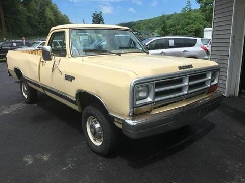 1986 Dodge RAM 150 for sale in Kingston, NY