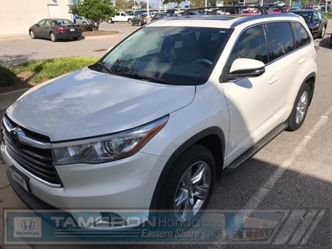 2014 Toyota Highlander for sale in Daphne, AL