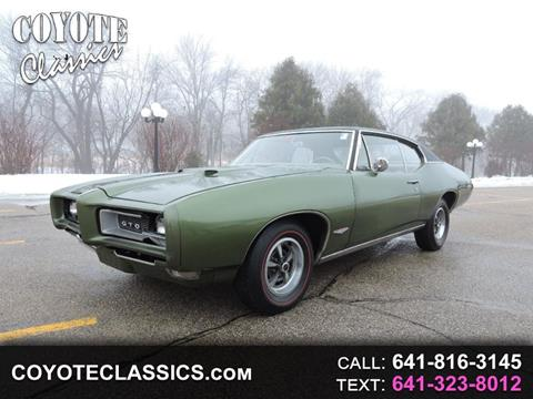 1968 Pontiac GTO for sale in Greene, IA