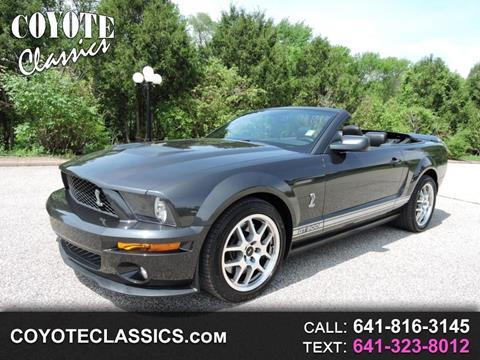 2008 Ford Shelby Gt500 For Sale Carsforsale