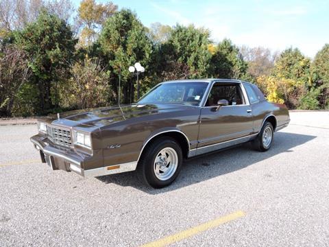1984 Chevrolet Monte Carlo for sale in Greene, IA