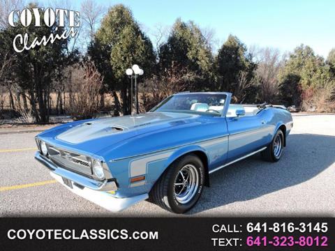 Used 1971 Ford Mustang For Sale Carsforsale Com