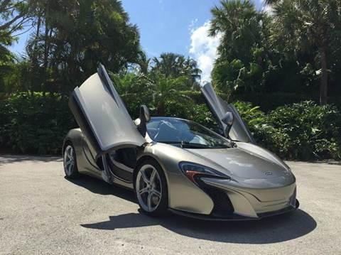2015 McLaren 650S Spider for sale in Houston, TX