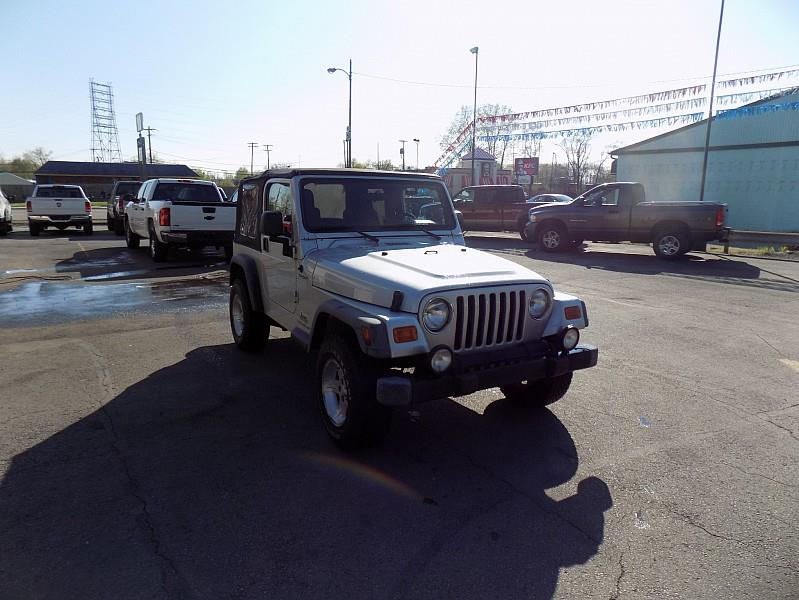 2004 Jeep Wrangler car for sale in Detroit