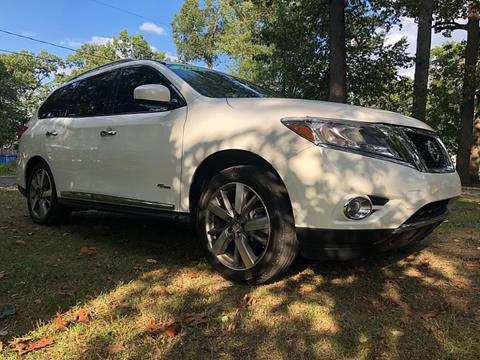 2014 Nissan Pathfinder Hybrid For Sale In Woodstock Il