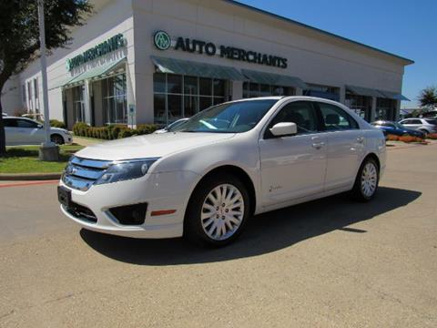 2012 Ford Fusion Hybrid for sale in Plano, TX