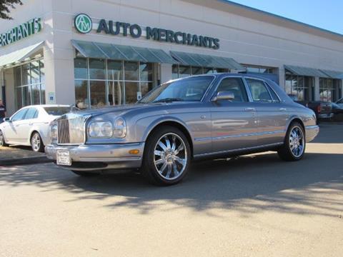 2001 Rolls-Royce Silver Seraph for sale in Plano, TX