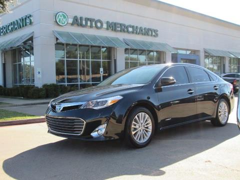2015 Toyota Avalon Hybrid for sale in Plano, TX