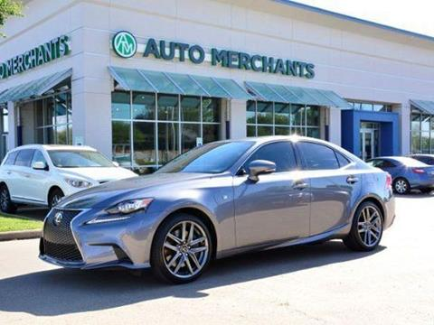 2014 Lexus IS 350 for sale in Plano, TX