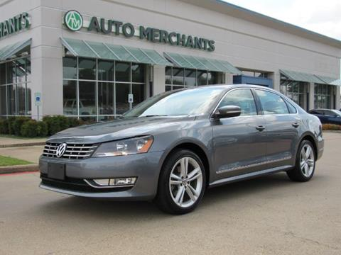2015 Volkswagen Passat for sale in Plano, TX