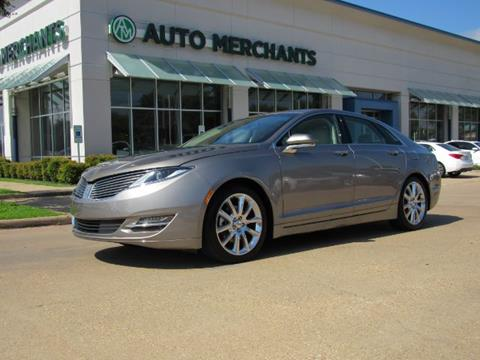 2015 Lincoln MKZ for sale in Plano, TX