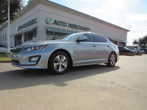 2014 Kia Optima Hybrid for sale in Plano, TX