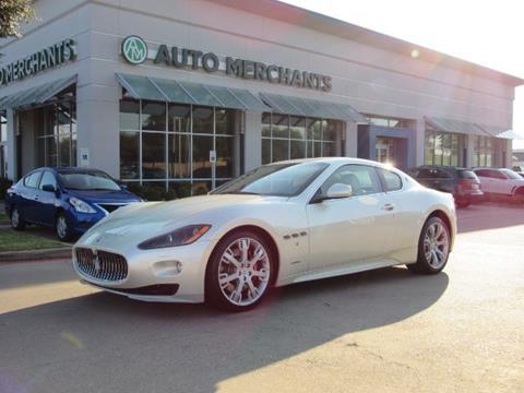 2012 Maserati GranTurismo for sale in Plano, TX