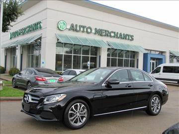2016 Mercedes-Benz C-Class for sale in Plano, TX