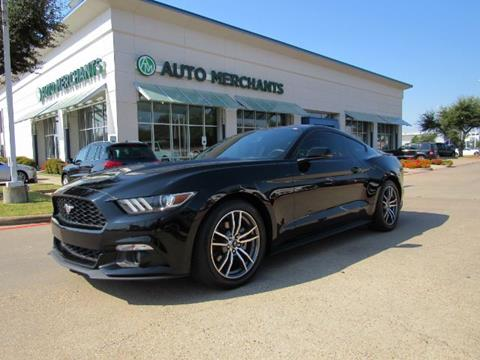 2015 Ford Mustang for sale in Plano, TX