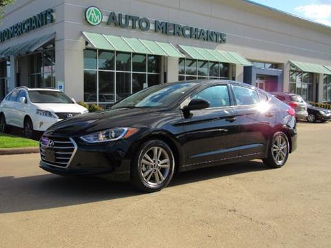 2017 Hyundai Elantra for sale in Plano, TX