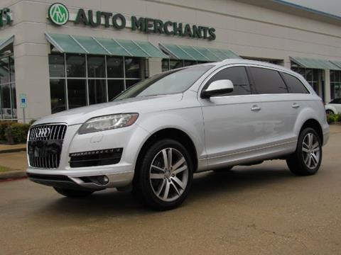 2013 Audi Q7 for sale in Plano, TX