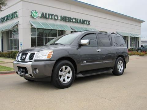 2006 Nissan Armada for sale in Plano, TX