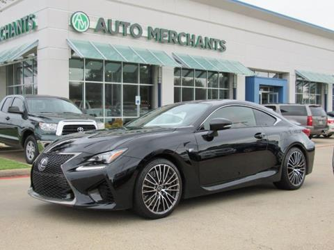 2015 Lexus RC F for sale in Plano, TX