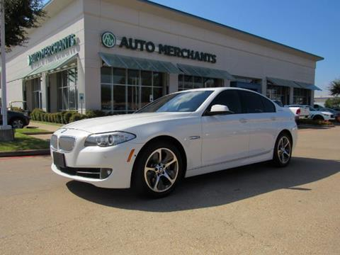 2013 BMW 5 Series for sale in Plano, TX