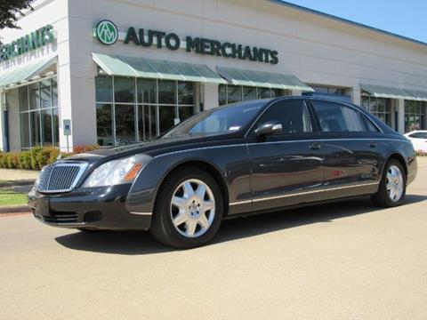 2004 Maybach 62 for sale in Plano, TX
