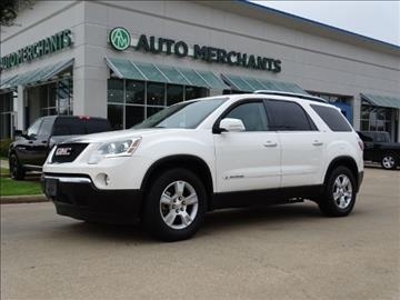 2008 GMC Acadia for sale in Plano, TX