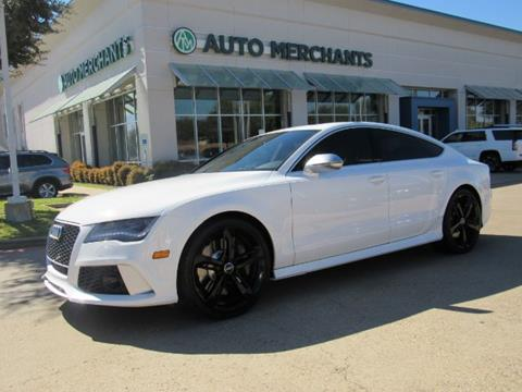 2014 Audi RS 7 for sale in Plano, TX
