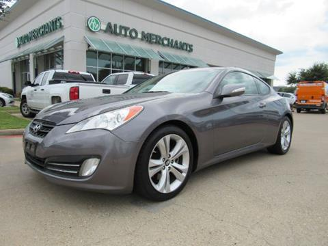 2012 Hyundai Genesis Coupe for sale in Plano, TX