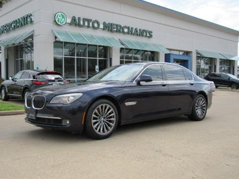 2012 BMW 7 Series for sale in Plano, TX