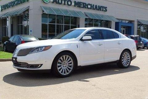 2013 Lincoln MKS for sale in Plano, TX