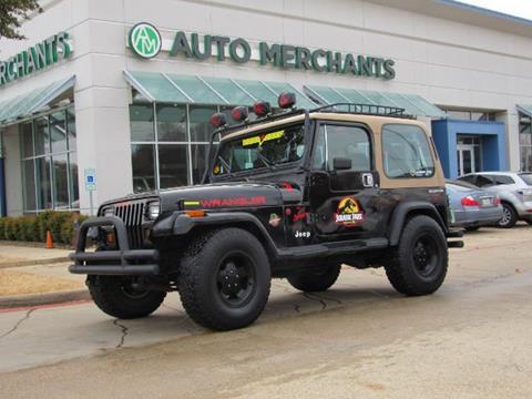1987 Jeep Wrangler for sale in Plano, TX