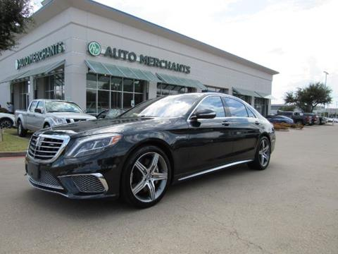 2014 Mercedes-Benz S-Class for sale in Plano, TX