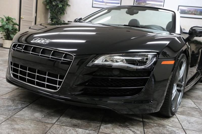 2012 Audi R8 AWD 5.2 quattro Spyder 2dr Convertible 6A - Westfield IN