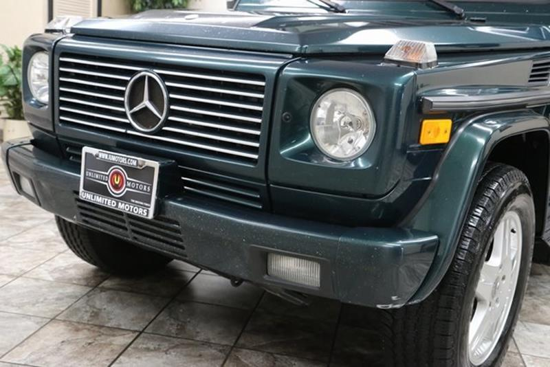 2003 Mercedes-Benz G-Class AWD G 500 4MATIC 4dr SUV - Westfield IN