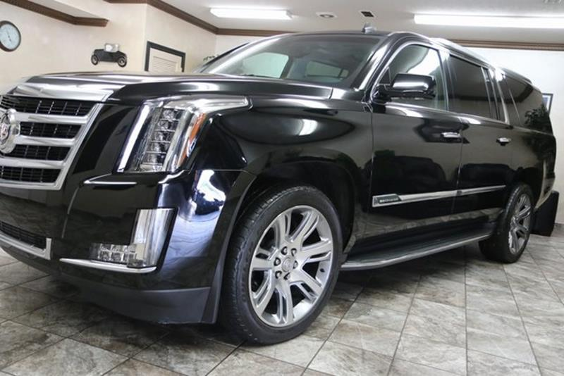 2015 Cadillac Escalade ESV 4x4 Luxury 4dr SUV - Westfield IN