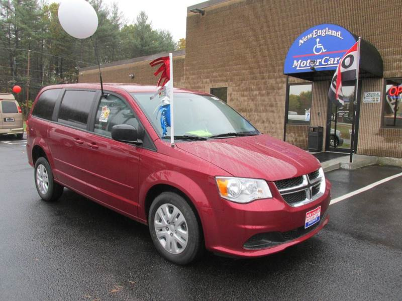 2016 Dodge Grand Caravan Se 4dr Mini Van In Hudson Nh New England Motor Car Company