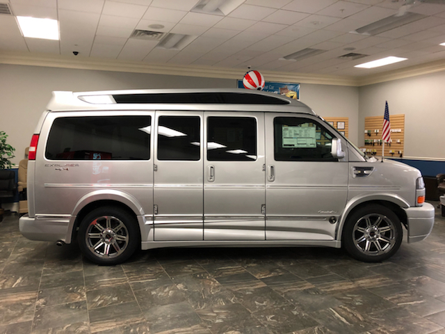 2018 Gmc Savana Cargo 4X4 Explorer Conversion van In ...