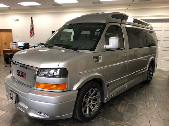 2018 gmc savana cargo 4x4 explorer conversion van in for New england motor car