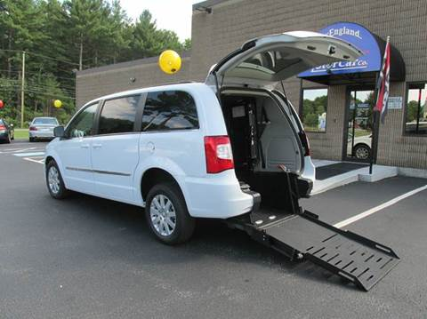 Wheelchair handicap van for sale in new hampshire for New england motor car