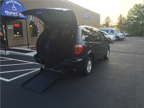 Wheelchair handicap van for sale new hampshire for New england motor car
