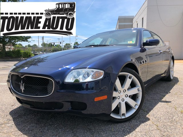 2007 Maserati Quattroporte Sport Gt Automatic 4dr Sedan In Virginia