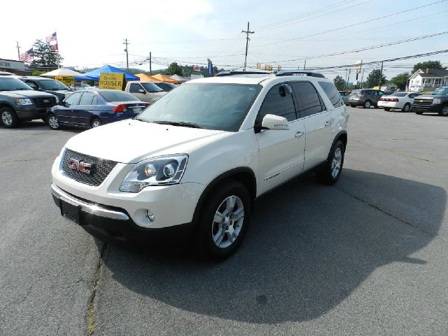 2007 GMC ACADIA SLT-2 AWD 4DR SUV white 2-stage unlocking - remote 3rd row floor mats abs - 4-wh