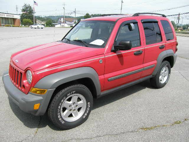 2005 JEEP LIBERTY SPORT 4WD red you wont find any electrical problems with this vehicle  nothing