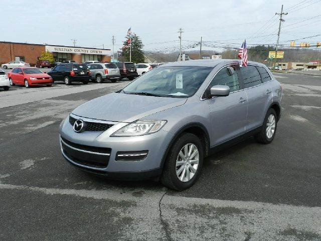 2008 MAZDA CX-9 SPORT 4DR SUV silver all power equipment on this vehicle is in working order  th