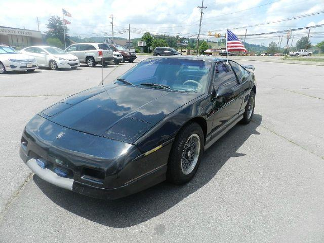 1987 PONTIAC FIERO GT 2DR COUPE black this vehicle has no known defects  all power equipment on t