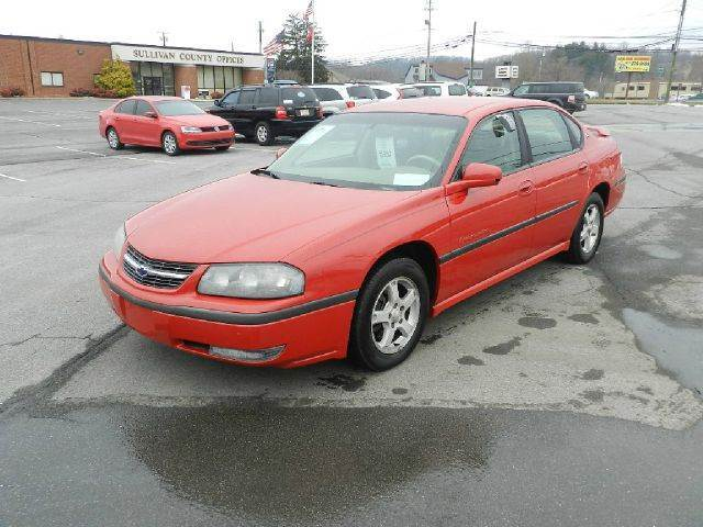 2003 CHEVROLET IMPALA LS 4DR SEDAN red all power equipment is functioning properly  there are no