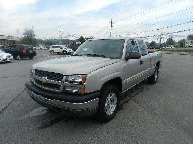 2005 CHEVROLET SILVERADO 1500 BASE 4DR EXTENDED CAB 4WD LB silver the electronic components on thi
