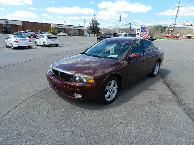 2002 LINCOLN LS BASE 4DR SEDAN maroon all power equipment is functioning properly  no defects