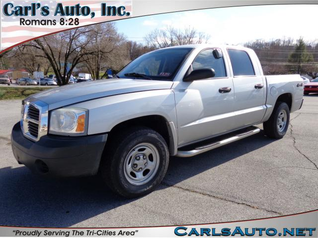 2005 DODGE DAKOTA ST silver four wheel drivepower steeringpower brakesamfm stereo radioradial